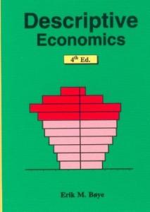 Descriptive Economics, Part I